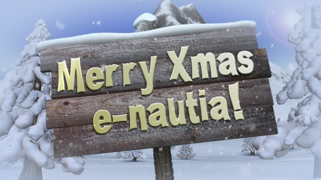 Merry Xmas e-nautia! (by Georges Le Yéti)