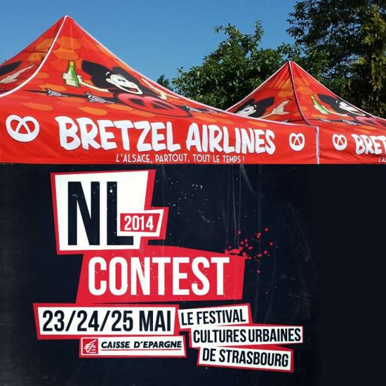 Bretzel Airlines au NL Constest