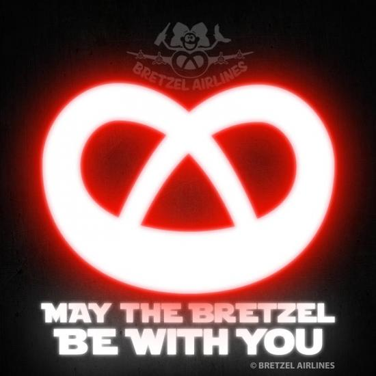 May the bretzel be with you!