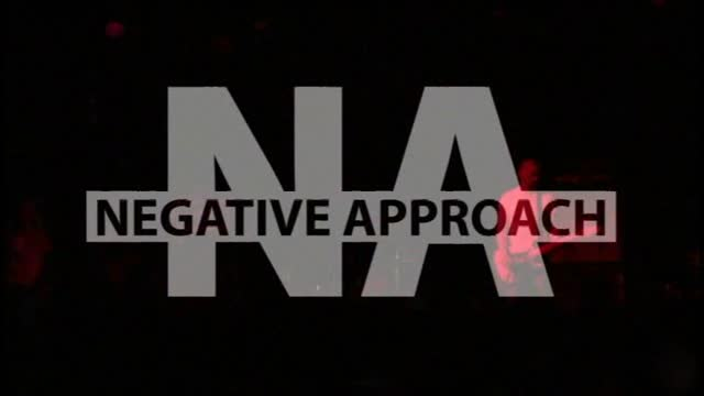 NEGATIVE APPROACH - Can't Tell No One